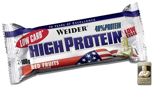 WEIDER High Protein Bar 40% Protein